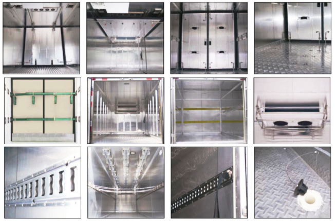 Technology Pictures for Three temperature sliding door refrigerated truck