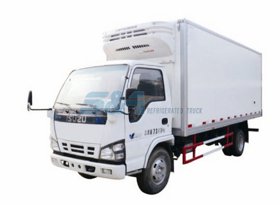 Isuzu 600P cold chain transport truck
